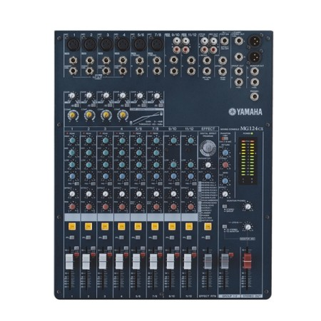 Analogue Mixer with Effects Yamaha MG124CX 8ch