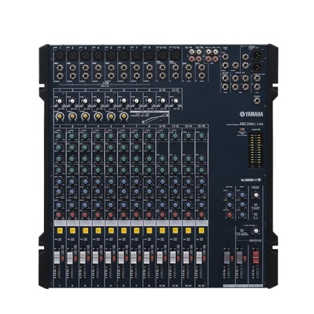 Analogue Mixer with Effects Yamaha MG166CX 12ch