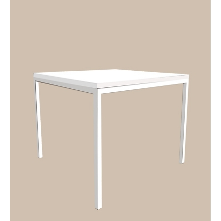 Coffee table - Cube, white