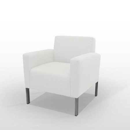 Armchair Soft - White