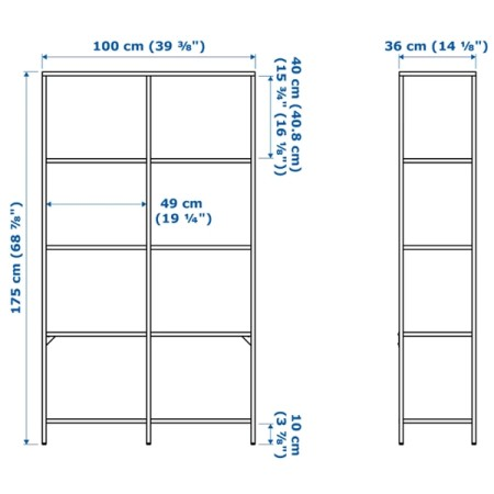 Shelving unit Iron