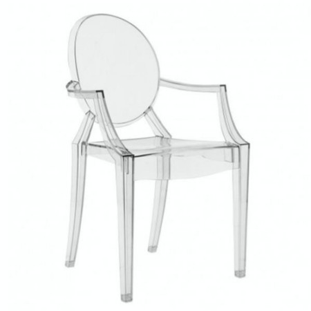 Plexi Chair - Louis Ghost