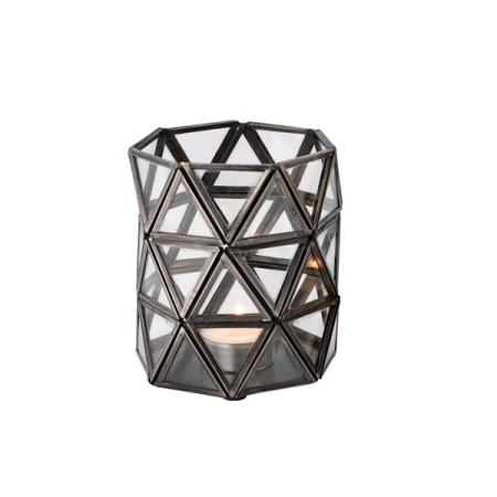 Candle holder - Geo, steel